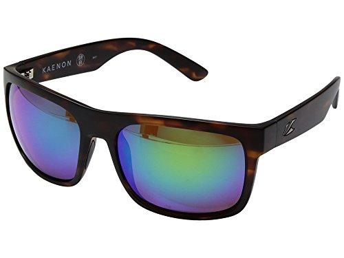 Kaenon Adult Burnet Xl Sunglasses, Matte Tortoise / Coastal Green, One Size