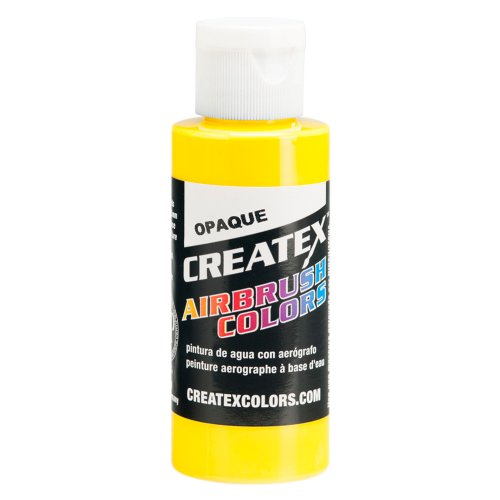 1 Gal. of Opaque Yellow #5204-GL CREATEX AIRBRUSH COLORS Hobby Craft Art PAINT by Createx
