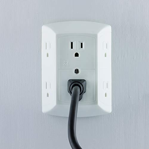 GE Office, Home Theater, Kitchen, or Bathroom, 6 Plug ...