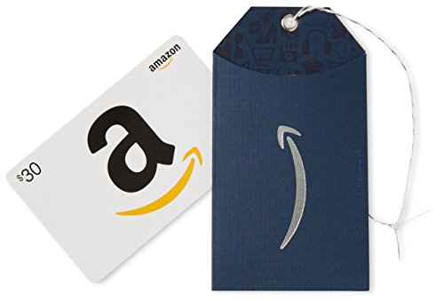Amazon.com $30 Gift Card in an Amazon Gift Tag