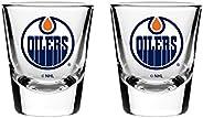 NHL Edmonton Oilers Shot Glass, 2-Pack