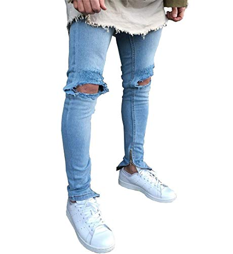 N Morbidi Uomo Pantaloni Fit Slim Cotton Alti Jeans Dritti Comodi Size Blue Marca Da 28 Fashion color Elastici Ssig Mode Di UxwOOn4fBq