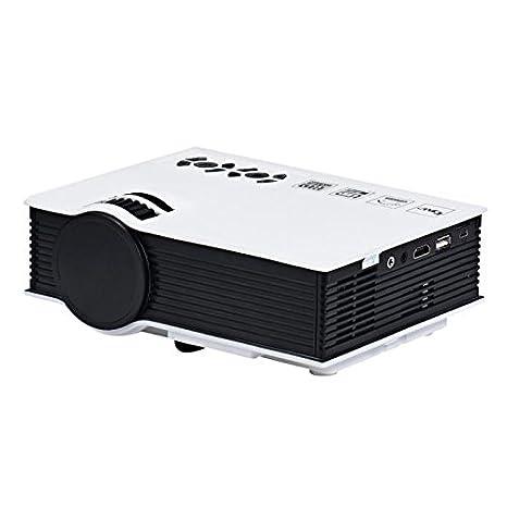 2017 Negro Viernes - Mini Proyector, Damark(TM) 1080P HD LED ...