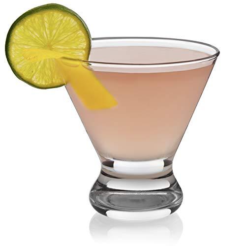 Libbey Cosmopolitan Martini Glasses, Set of 4 (Renewed)