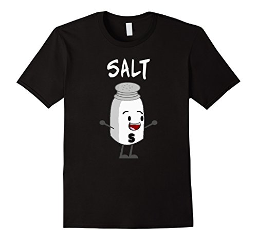 Mens Salt and Pepper Shirts Matching Couple Halloween Costume Small (Matching Couple Outfits For Halloween)