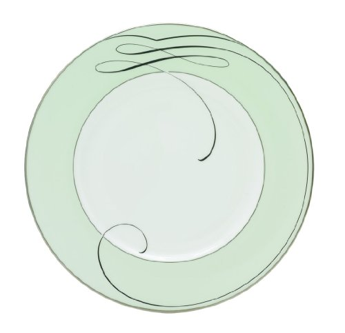 - Waterford Ballet Ribbon Green Accent Plate, 9-Inch