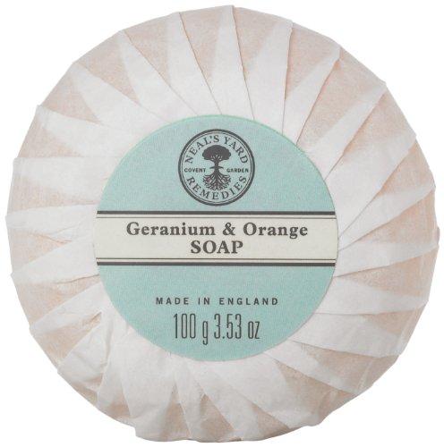 Niels Yard Remedies Geranium & Oranges Soap