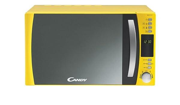 Candy CMW 7317 DY, Amarillo - Microondas: Amazon.es: Hogar