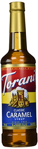 Torani Classic Caramel Syrup, 25.4 Ounce (Medium Caramel Finish)