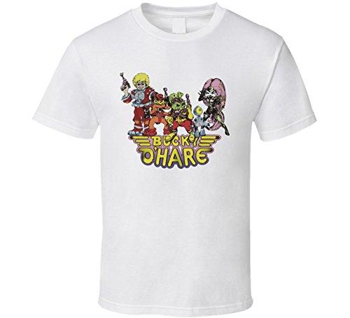 The Village T Shirt Shop Bucky O'Hare 90's Cartoon T Shirt S - Hare Shops O