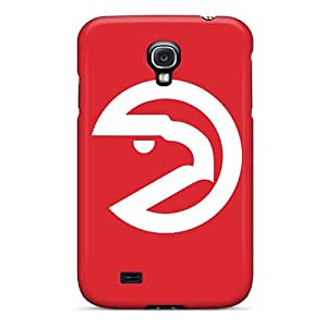 Galaxy S4 Hard Back With Bumper Silicone Gel Tpu Case Cover Nba Atlanta Hawks 5
