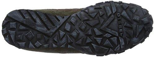 Hombre Zapatillas H2906 Diesel Marrón Low para Pagodha H2906 S xt7wqFXU