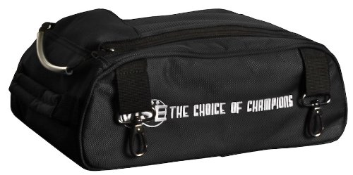 Vise Shoe Bag Add-On for Two Ball Roller, Black by Vise