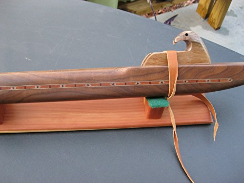 Native American Flute - Walnut - Key of Low D - Quality - Hand Made