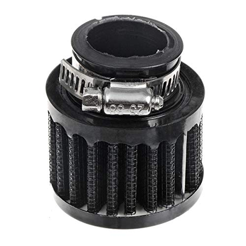 (ZYHW Auto Car Carbon Fiber Rubber End Clamp on 25mm 1