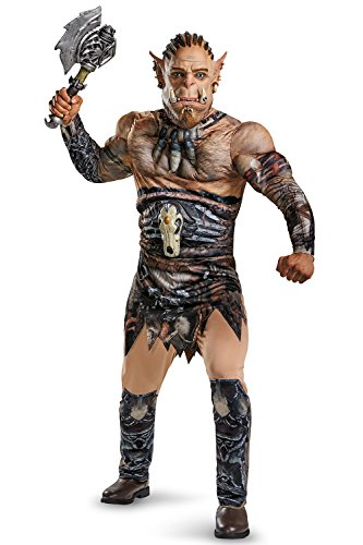 Disguise Men's Warcraft Durotan Muscle Costume