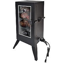 Smoke Hollow 30162EW  30-Inch  Electric Smoker with Window, Black
