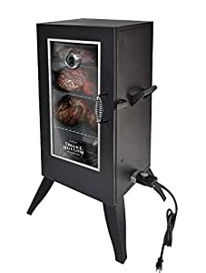 Smoke Hollow 30162EW  30-Inch  Electric Smoker with Window, Black