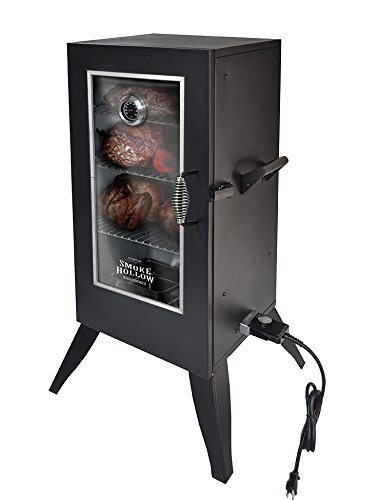 Charmant Smoke Hollow 30162EW 30 Inch Electric Smoker With Window, Black
