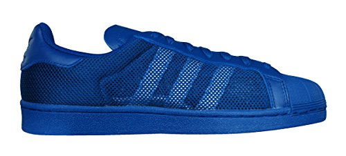 Adidas Originals Superstar Trippel Mens Gymnastikskor / Skor-blue-7.5
