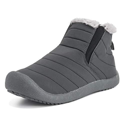 (Polar Boot Unisex Adults Luxury Durable Warm Outdoor Winter Walking Faux Fur Shoes - GRE40US AEA0551)