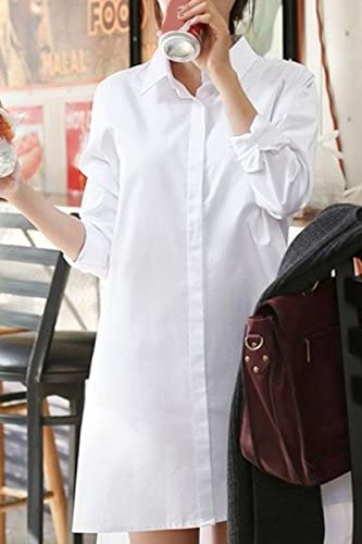 Polo cuello de vestir camisa blanca de manga larga refrescantes Mujeres - S: Amazon.es: Deportes y aire libre