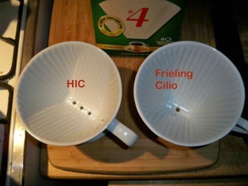 HIC porcelana nº 4 café filtro cono, jardín, césped, Mantenimiento: Amazon.es: Jardín
