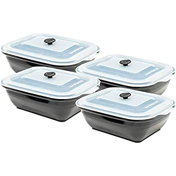 Amazon Com Collapse It Silicone Food Storage Containers