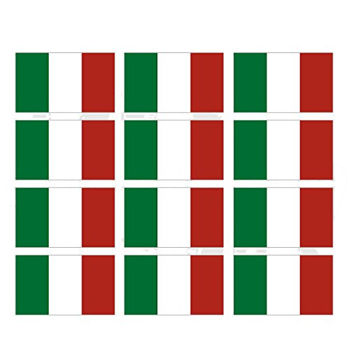 italian stickers hardhat - 2