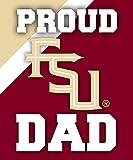 FLORIDA STATE SEMINOLES DAD MAGNET-PROUD FLORIDA STATE DAD CAR MAGENT