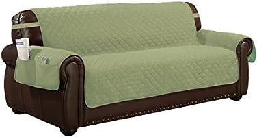Admirable Quick Fit Jameson Reversible Furniture Protector Slipcover Inzonedesignstudio Interior Chair Design Inzonedesignstudiocom