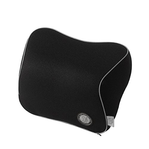 BB Car Seat Headrest Pad Memory Foam Travel Pillow Head Neck Rest Support Cushion