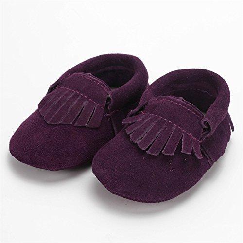 leap frog  Moccasins Boots,  Baby, Jungen Mokassins Deep Purple