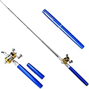 TOPIND Mini Pen Fishing Rod Simple and Practical