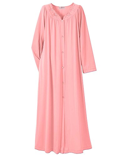 Shadowline Petals Long Robe, Melon, Medium