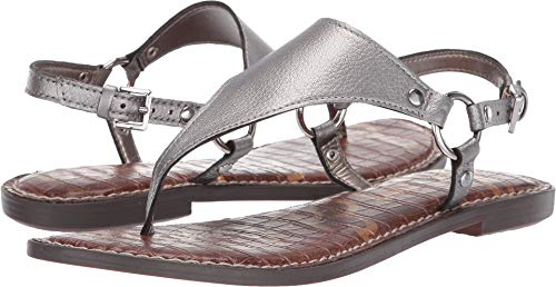 Sam Edelman Women's Greta Pewter Tumbled Opal Metallic 9.5 M US