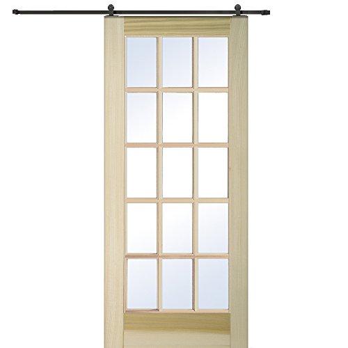 National Door Company Z009572 Unfinished Poplar Wood 15 L...