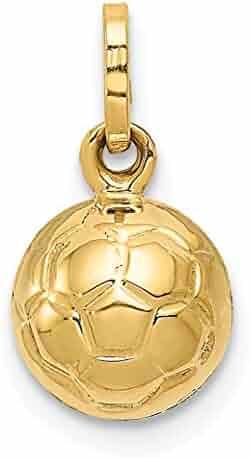 DiamondJewelryNY 14kt Gold Filled Guardian Angel//Basketball Pendant
