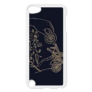 iPod Touch 5 Case White BUILD MY OWN BIKE SLI_618704