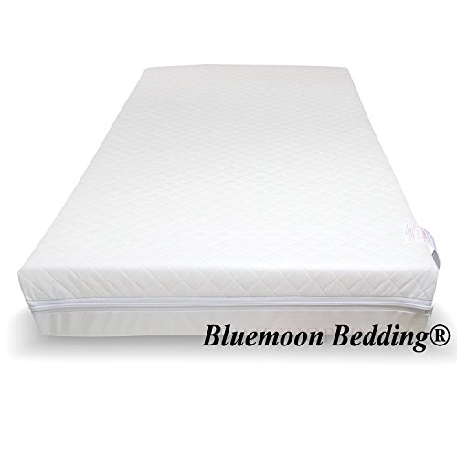 Fully Breathable BABY REX/® Superior Quilted Travel Cot Mattress 101 x 71 x 6 cm Thick