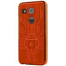 LG Nexus 5X Case, Cruzerlite Bugdroid Circuit Case Compatible for LG Nexus 5X - Orange