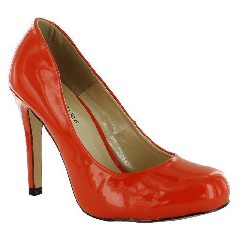 Footwear Sensation - Sandalias de vestir de sintético para mujer Naranja - naranja