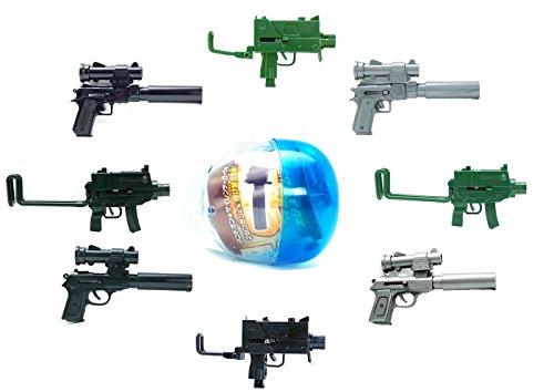 Price comparison product image BB-STYLE Mini MACHINE GUN HAND GUN Pistol Blind Box Japanese Gashapon Capsule Toy ( 1 Random Toy Gun)