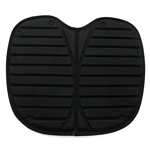 WSSROGY 12.5 x 14 inches Kayak Seat Cushion Seat Pad Lightweight Nylon Paddling Cushion for Sit-on Top Kayak, Sporting Event Seat Pad, Outdoor, Travel by WSSROGY