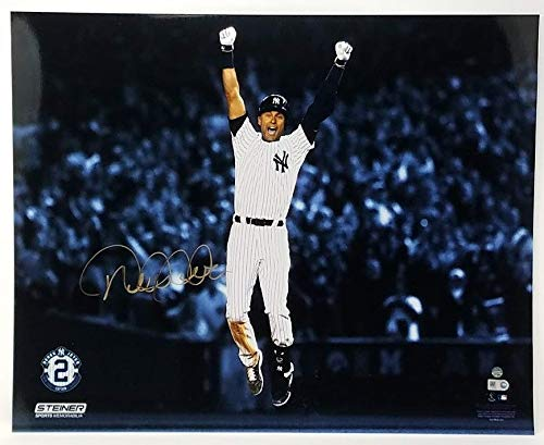 DEREK JETER Autographed Yankees