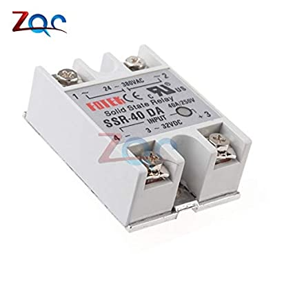 24V-380V 25A 250V SSR-25 DA Solid State Relay Module 3-32V DC To AC NEW