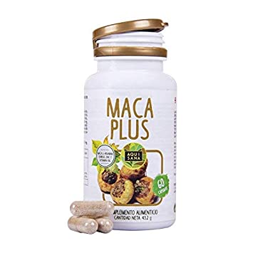Maca con Ginkgo Biloba: Complemento vitamínico con Vitamina B, Zinc l-arginina.: Amazon.es: Salud y cuidado personal