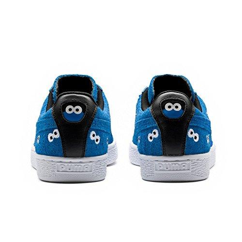 Puma Vælge Mænds X Sesam Street Ruskind Sneakers Fransk Blå 4pTFUWIw