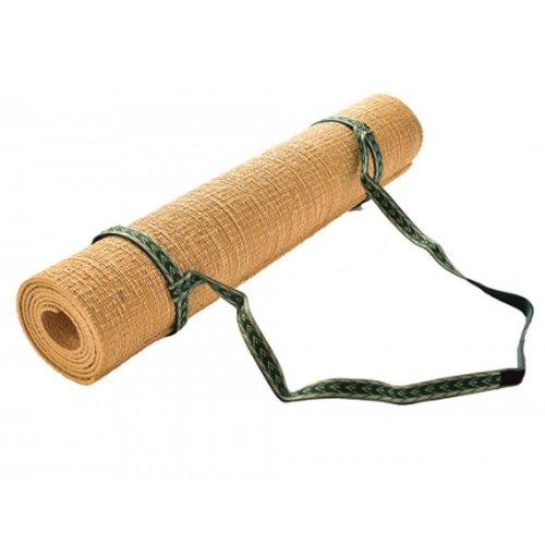 Hugger Mugger Simple Sling Strap for Yoga Mat, Green - Green Velcro Mat