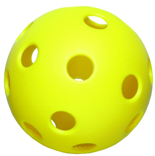 Diamond Sports DW-12 Plastic Softball, 18 pack (Yellow, 12-Inch) by Diamond Sports